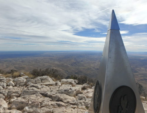 Highest Point in Texas- Guadalupe Peak